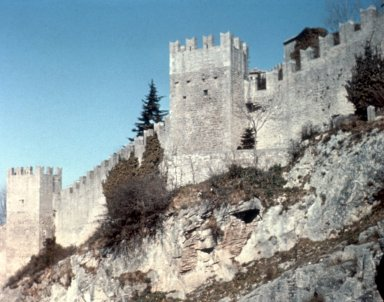 Fortress at San Marino
