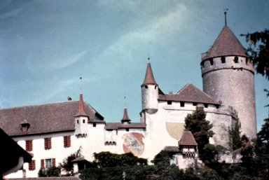 Castle at Lucens