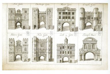 Seven Gates of London and Temple Bar