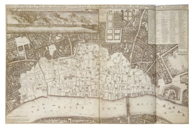 Exact Survey of the Streets, Lanes, and Churches Contained Within the Ruins of the City of London
