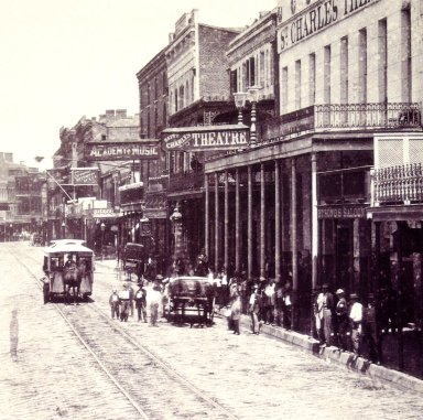 Saint Charles Street from the Corner of Poydras