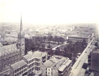 Birds Eye View of 1st District: Lafayette Square