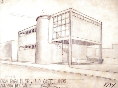 Plan for the House of Julio Castellanos