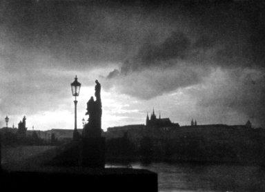 Evening on the Charles Bridge, Prague