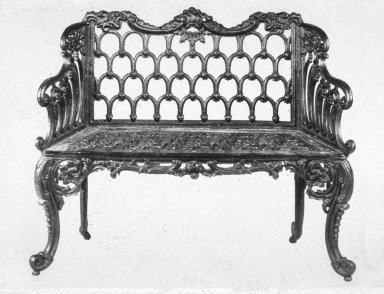 Cast-Iron Garden Seat
