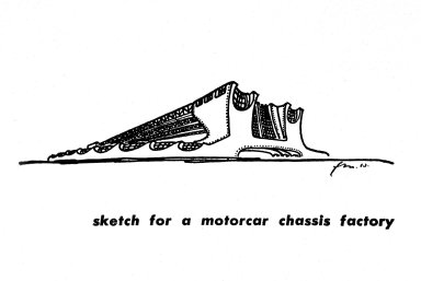 Sketch for a Motorcar Chassis Factory