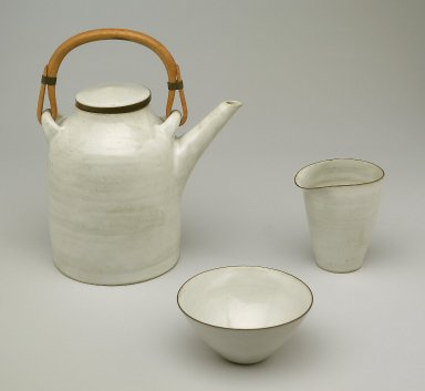 Teapot, Pitcher, and Creamer