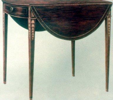 Oval Pembroke Table
