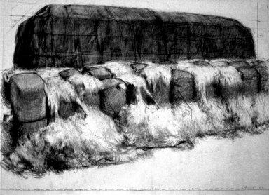 Packed Wool Bales