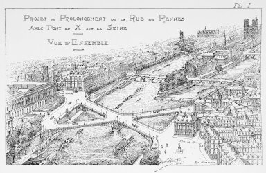Project for the Extension of the Rue de Rennes