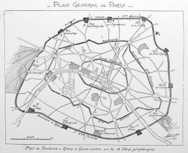 General Plan of Paris