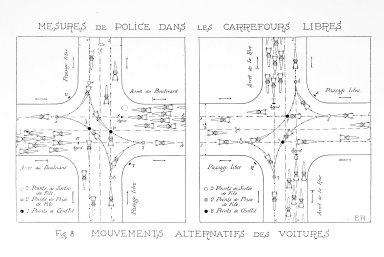 Diagram of Busy Intersections