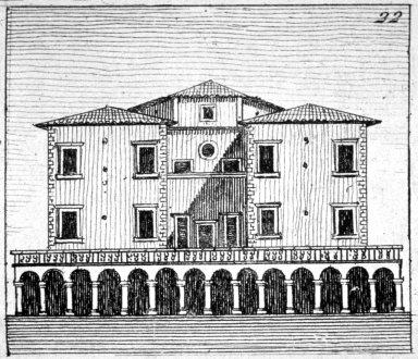 Villa Medici at Poggio a Caiano
