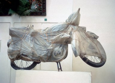 Wrapped Motorcycle