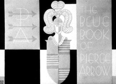 Pierce Arrow Booklet Made for Bartlett-Orr Press