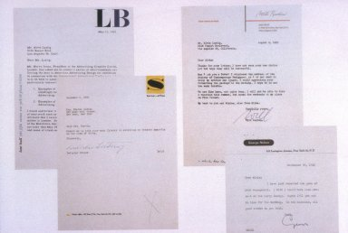 Four Different Letterheads