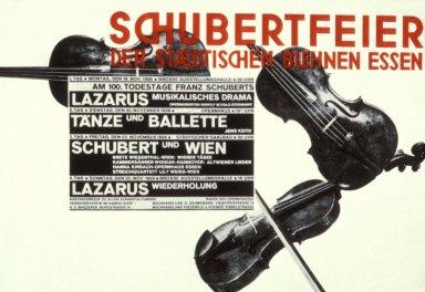 Schubertfeier der Staedtischen Buehnen Essen