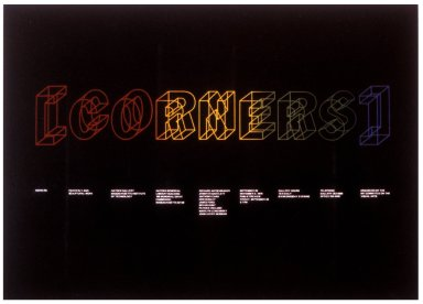 Corners Exhibition Poster