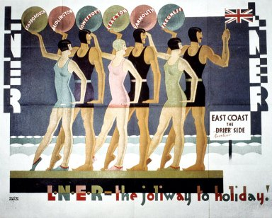Joliway to Holiday LNER Poster