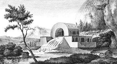 House of the Surveyors of the Loue River
