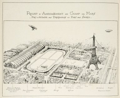 Plan for the Improvement of the Champ de Mars