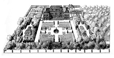 Garden with an Area of 5000 Square Meters