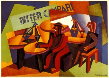 Bitter Campari Advertisement