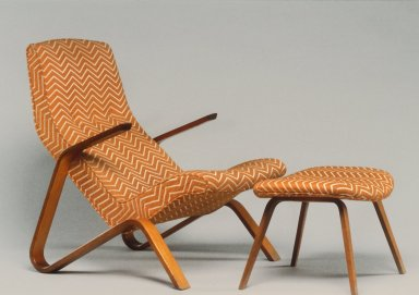 Grasshopper Armchair and Ottoman
