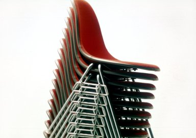 Stacking and Ganging Side Chairs
