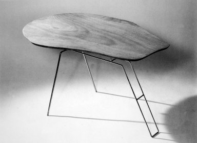 Free-Form Wooden Coffee Table