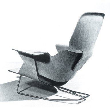Plywood Lounge Chair Studies