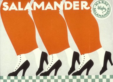 Salamander Shoe Company Poster