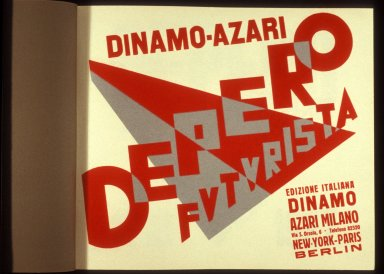 Dinamo-Azari Depero Futurista