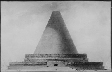 Project for a Conical Cenotaph