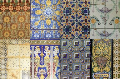 Composite of Different Tiles of Havana