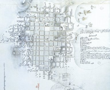Plan of Santiago de Cuba