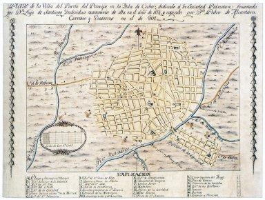 Plan of Camaguey