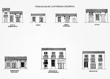 Typologies of Colonial Housing