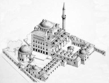 Zal Mahmud Pasha Complex at Eyup