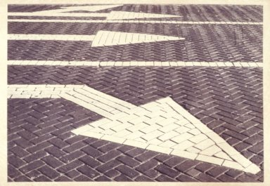 Directional Arrows on Street