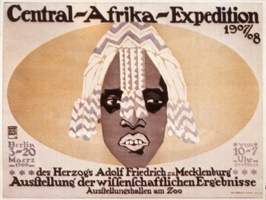 Central Afrika Expedition Poster