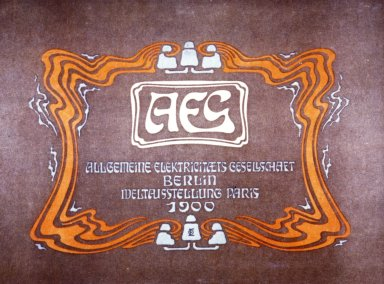 Allgemeine Elektrizit¿ts-Gesellschaft (AEG) Catalog