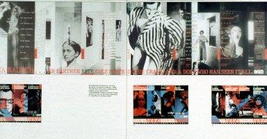 Pina Bausch and BAM brochures