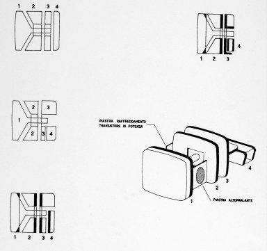 Doney 14 Transistor Television Set