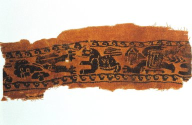 Tunic with Figures and Spiral Waves