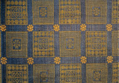 Gold and Blue Mamluk Rug