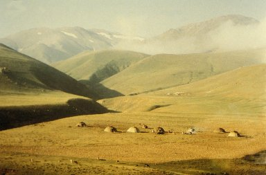 Yurts of the Nomadic Shahsavan Tribe