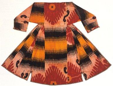 Robe with Tambourine Motifs