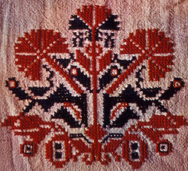 Woman's Dress Sleeve From Slavonia