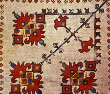 Woman's Scarf From Northern Dalmatia